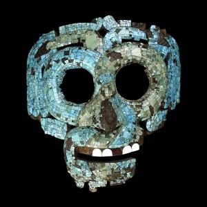 Aztec god mask