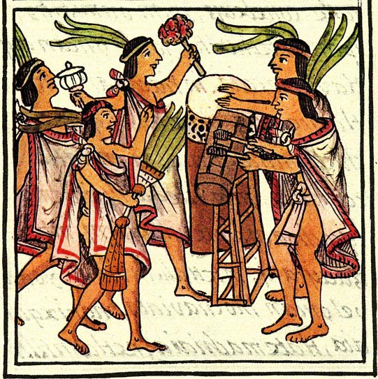 aztec rain dance
