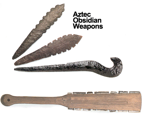 Bravery and Warriors in Aztec Society | Ancient Aztec World Aztec Obsidian Sword