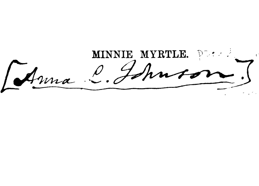 Anna L Johnson Signature