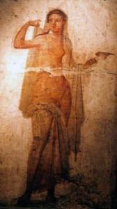 hermaphrodite fresco 1-50AD