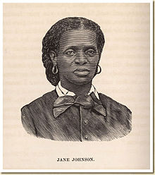 Photo Source: http://en.wikipedia.org/wiki/Jane_Johnson_(slave). Jane Johnson