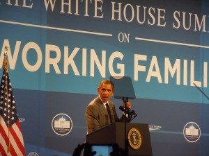 President Obama addressing the White House Summit 6-23-2014v2