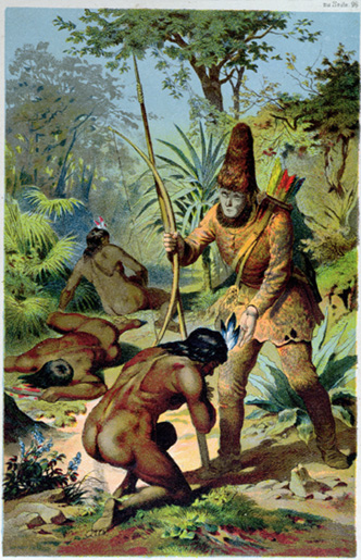 Robinson Crusoe and Man Friday